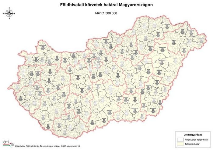 Foldhivatalok Magyarorszagon