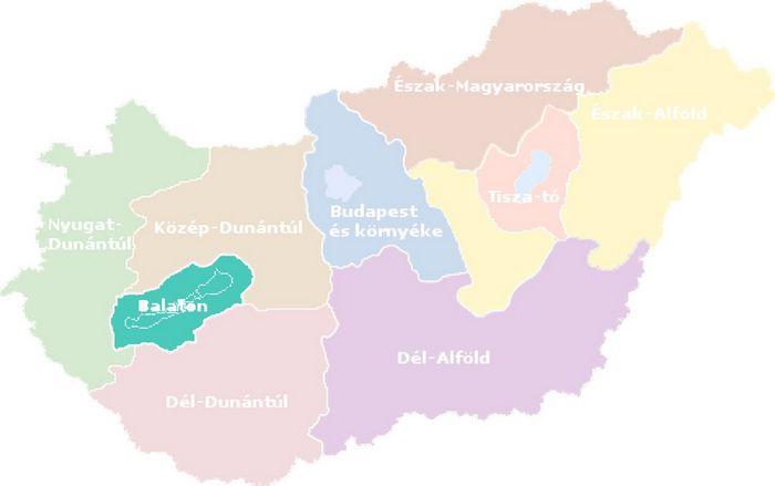 Balaton Turisztikai Regio Varosai Es Telepulesei