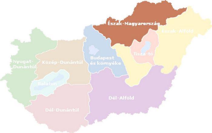 Eszak Magyarorszag Turisztikai Regio Varosai Es Telepulesei